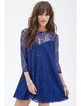lace-shift-dress by forever-21