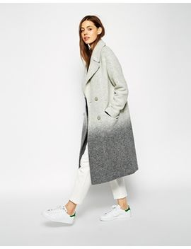 asos-oversized-coat-in-ombre-boiled-wool by asos-collection