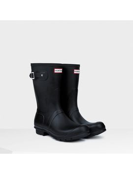 mens-original-short-rain-boots by hunter