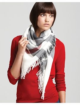 color-check-wool-scarf by burberry
