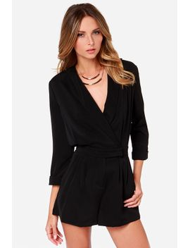 ardent-admirer-black-long-sleeve-romper by lulus