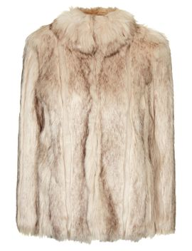 chunky-faux-fur-coat by topshop