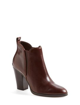 brandy-leather-bootie by michael-michael-kors