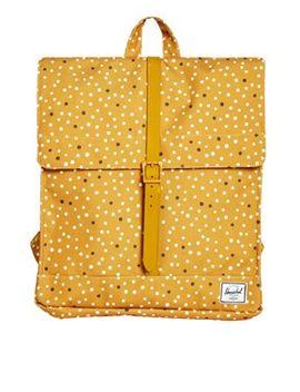 herschel-city-backpack-in-polka-dot by herschel
