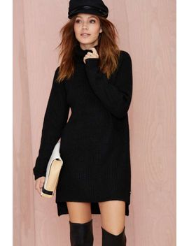 line-&-dot-christensen-oversized-sweater by nasty-gal
