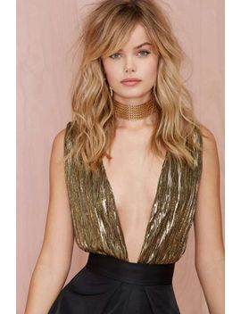 nasty-gal-gilt-trip-metallic-bodysuit by nasty-gal