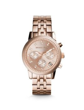 ritz-rose-gold-tone-watch by michael-kors
