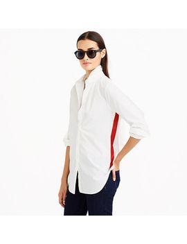 side-stripe-shirt by jcrew