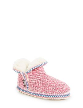 amira-candy-coated-bootie-slipper by muk-luks