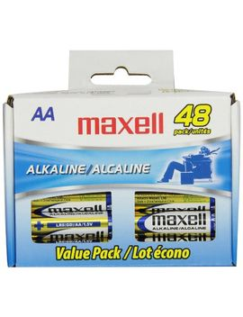 maxell-723443-alkaline-battery-aa-cell-48-pack by maxell