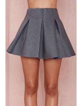 bonding-time-scuba-skirt by nasty-gal