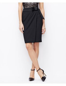 bow-pencil-skirt by ann-taylor