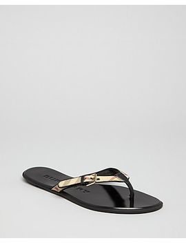 flip-flop-sandals---parsons-check-thong by burberry
