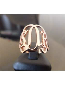 monogram-ring-personalized-925-ct-sterling-silver by istanbuljewel