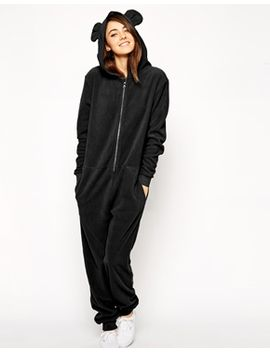 asos-cosy-fleece-onesie-with-hood-and-ears by asos-collection