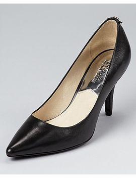 womens-mk-flex-mid-heel-pumps- by michael-michael-kors
