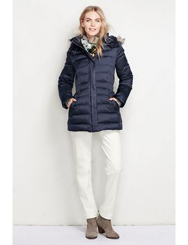 womens-tall-shimmer-down-parka by lands-end