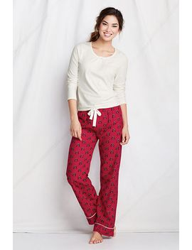 womens-plus-size-knit-flannel-gift-set by lands-end