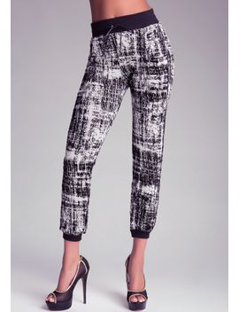 flocked-sweatpants by bebe