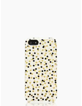 confetti-dot-iphone-5-case by kate-spade