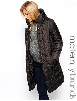 mamalicious-belted-padded-coat by mamalicious