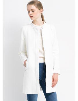 cotton-linen-blend-coat by mango