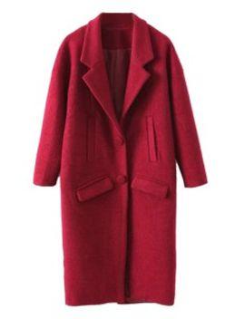 red-lapel-longline-woollen-coat by choies