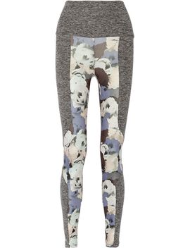 paneled-printed-stretch-jersey-leggings by live-the-process
