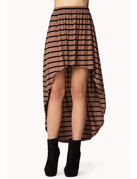 high-low-striped-skirt by forever-21