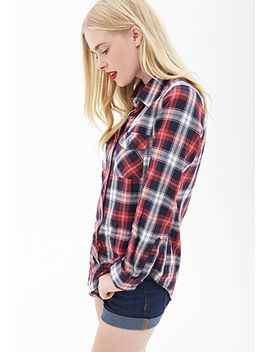 classic-plaid-western-shirt by forever-21