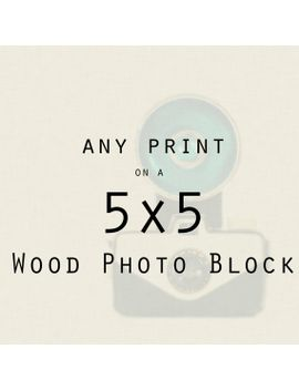 photograph-on-wood,-ready-to-hang,-wood-wall-art,-wood-photo-blocks,-any-5x5-inch,-art-for-walls,-home-decor,-chicago,-office,-kitchen-art by traceycapone