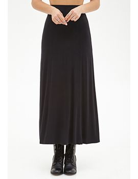stretch-knit-maxi-skirt by forever-21
