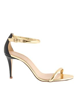 mixed-leather-strappy-high-heel-sandals by jcrew