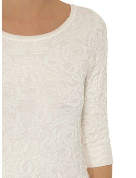 lace-texture-jumper by dorothy-perkins
