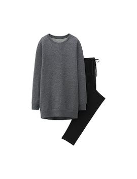 women-long-sleeve-sweat-set-(long-sleeve) by uniqlo