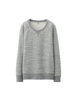 women-sweat-long-sleeve-pullover by uniqlo