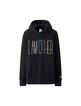 women-i-am-other-long-sleeve-sweat-pullover-hoodie by uniqlo