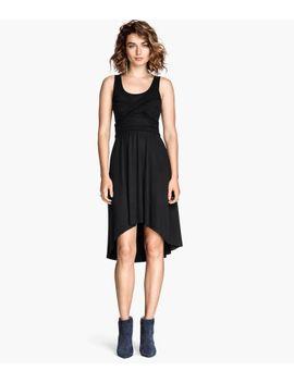 mouwloze-jurk by h&m
