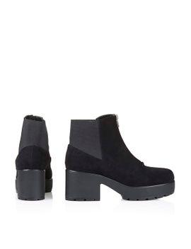 brick-front-zip-boots by topshop