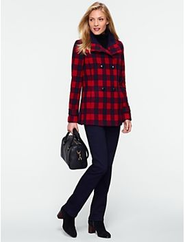 buffalo-check-double-breasted-coat by talbots