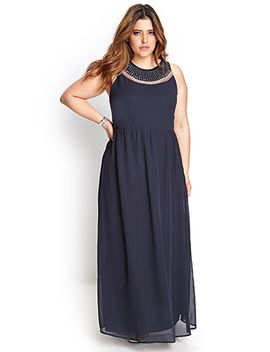 beaded-maxi-dress by forever-21