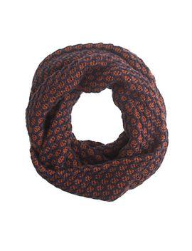 honeycomb-infinity-scarf by jcrew