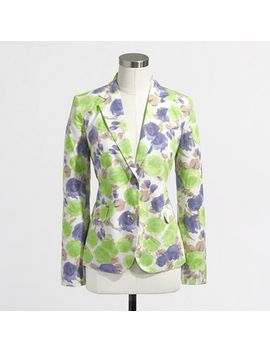 factory-printed-blazer by jcrew