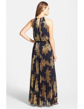 foiled-blouson-gown by xscape