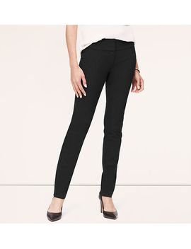 birdseye-bi-stretch-fitted-straight-leg-pants-in-marisa-fit by loft