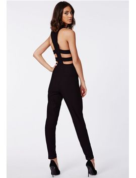nicole-x-cut-out-jumpsuit by missguided