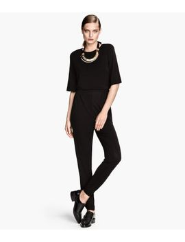 short-sleeved-jumpsuit by h&m