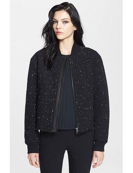 challenge-leather-trim-bomber-jacket by rag-&-bone