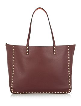 the-rockstud-medium-reversible-textured-leather-tote by valentino