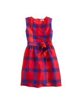 girls-holiday-tartan-dress by jcrew